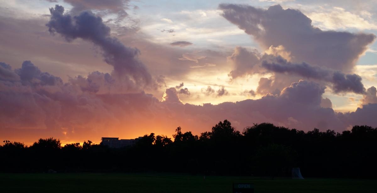Sunset in Houston